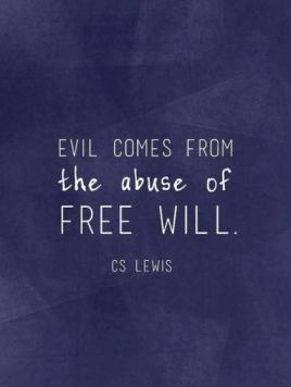 evil and free will